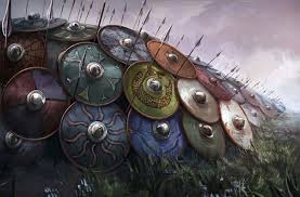 Image result for shield wall vikings